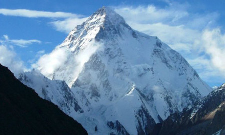 K2 - the second highest mountain in the world, and highest in Pakistan (photo: EPA)