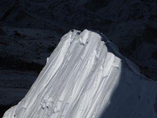 The ridge in the evening sun