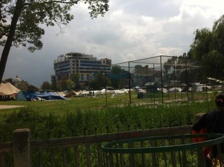 Tents in Ratna Park