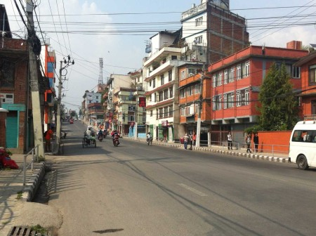 Kathmandu on 5th June 2-15 - six weeks after the earthquake