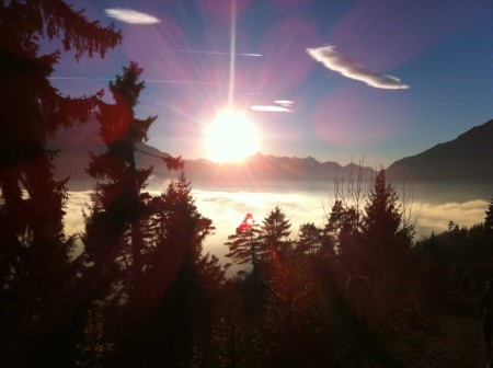Above the clouds in Bavaria