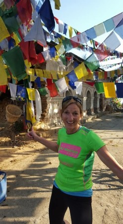 This was taken on a long 55km-run in Nepal with my friend Jo Chaffer