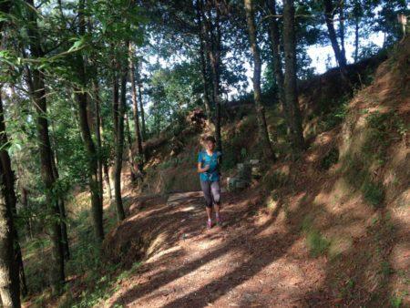 Training in the hills of Kathmandu