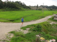 This is what running can be like near Kathmandu if you get out