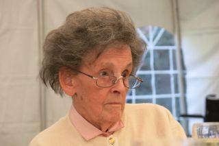 Miss Hawley looking surprised