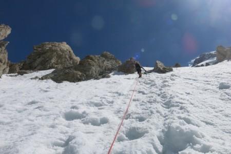 Climbing up to Camp 2