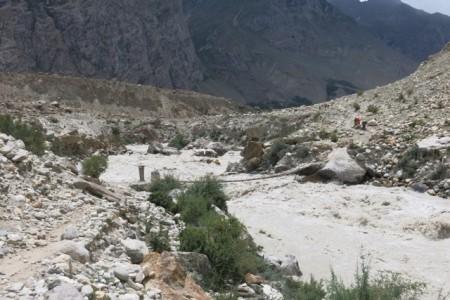 Raging Braldo River
