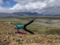 Planking above Tingri