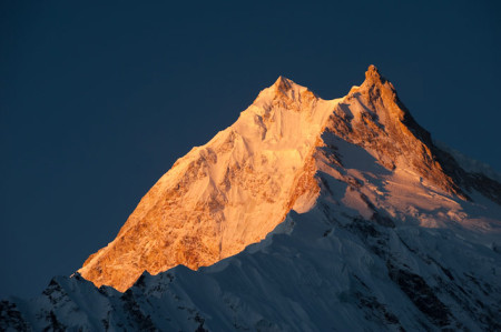 Manaslu taken by Alex Treadway