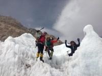 Suzanne, Billi und Christof im Eisbruch